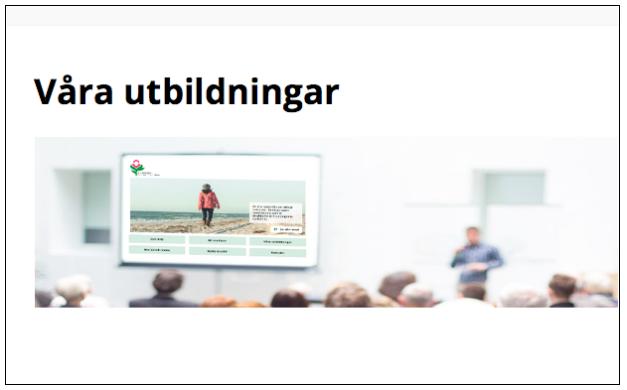 """Nu Finns Den Här! WEBB-utbildningen Kring """"Omvårdnad Vid Huntingtonssjukdom"""""""