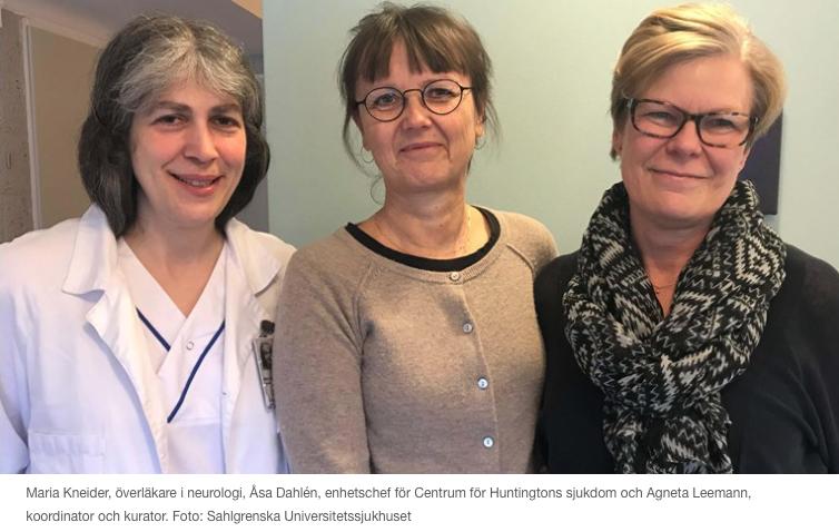Nytt Centrum För Huntingtons Sjukdom I Göteborg