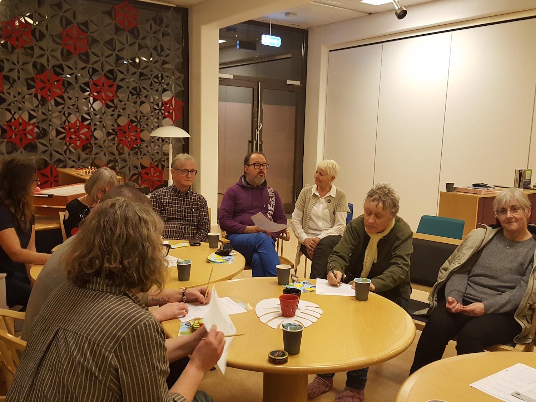 16 Maj, Anhörigmöte På Sätra Profilboende, Stockholm
