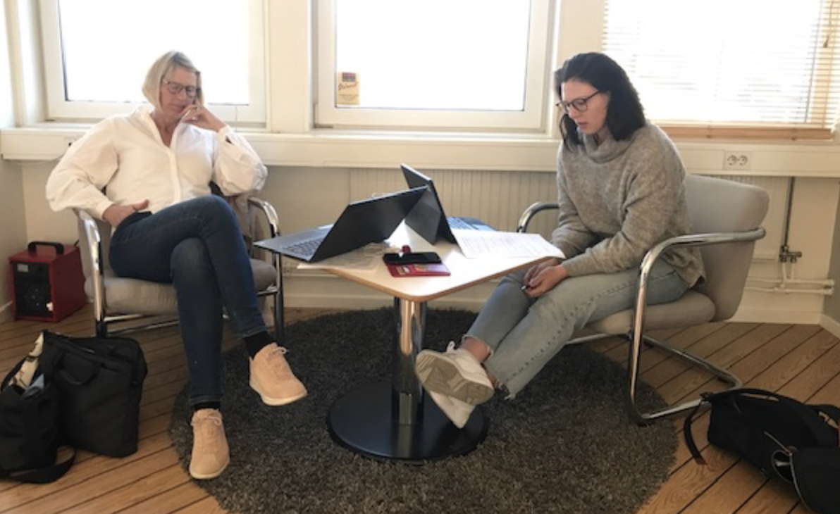 20/4, Möte Med Arbetsgruppen I Projektet
