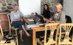 Arvsfondsprojektets Planeringsmöte I Båstad Inför Sommaren Och Hösten 2020